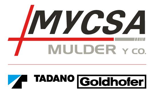 Logo Mycsa mulder Movicarga tadano goldhofer