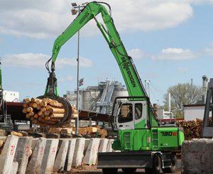 manipuladores para el reciclaje de madera usada