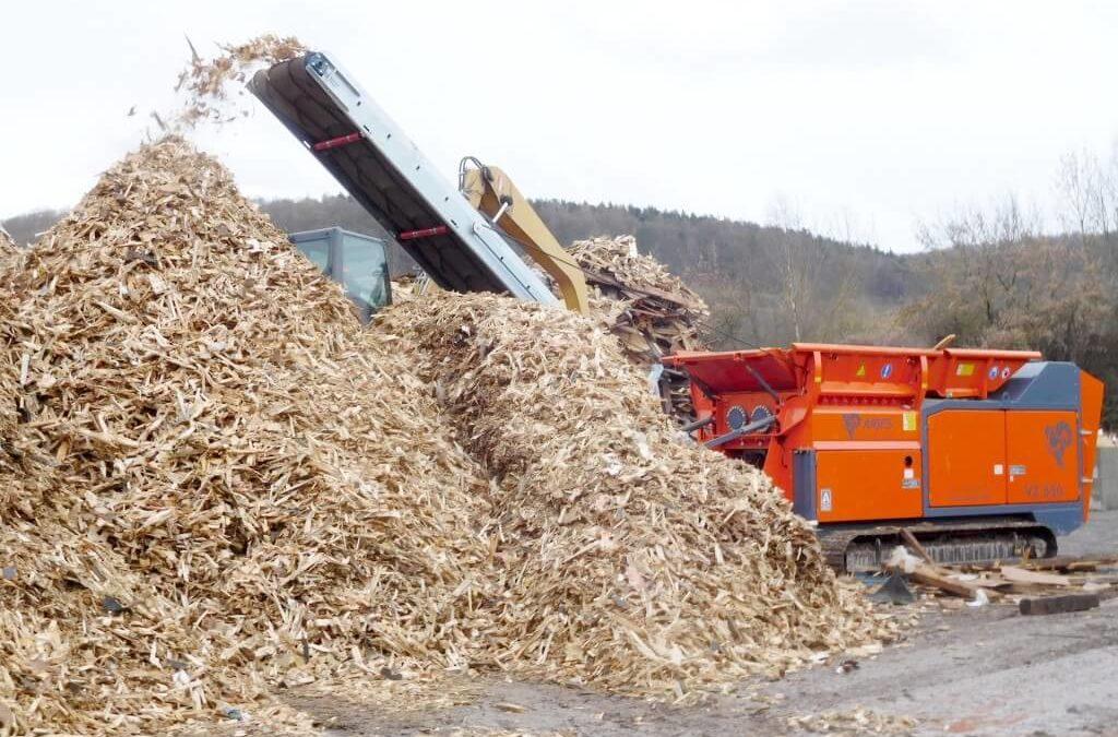 las mejores maquinas para reciclar madera usada