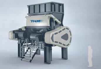 pretrituradores THM para el reciclaje