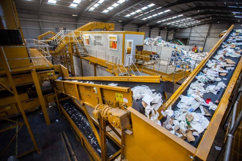sistema de reciclaje completo