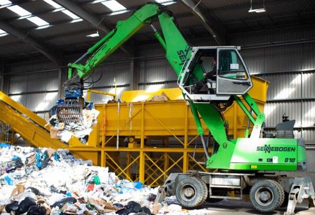 maquinarias para gestionar residuos industriales peligrosos y no peligrosos