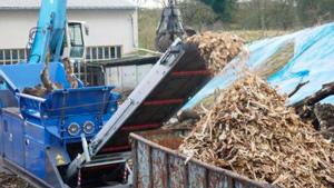 Trituradora de madera
